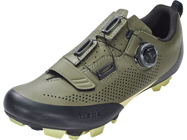 Fizik Terra X5 MTB Shoes Herre military green/tangy green